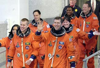 Crew of the STS-107